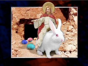 Keeping the Eostra in Easter – OlyEats Easter Eggs Jesus