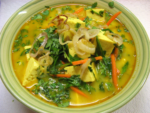Vietnamese Style Vegetarian Curry Soup Recipes — Dishmaps