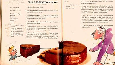 Roald Dahl Chocolate Cake Recipe