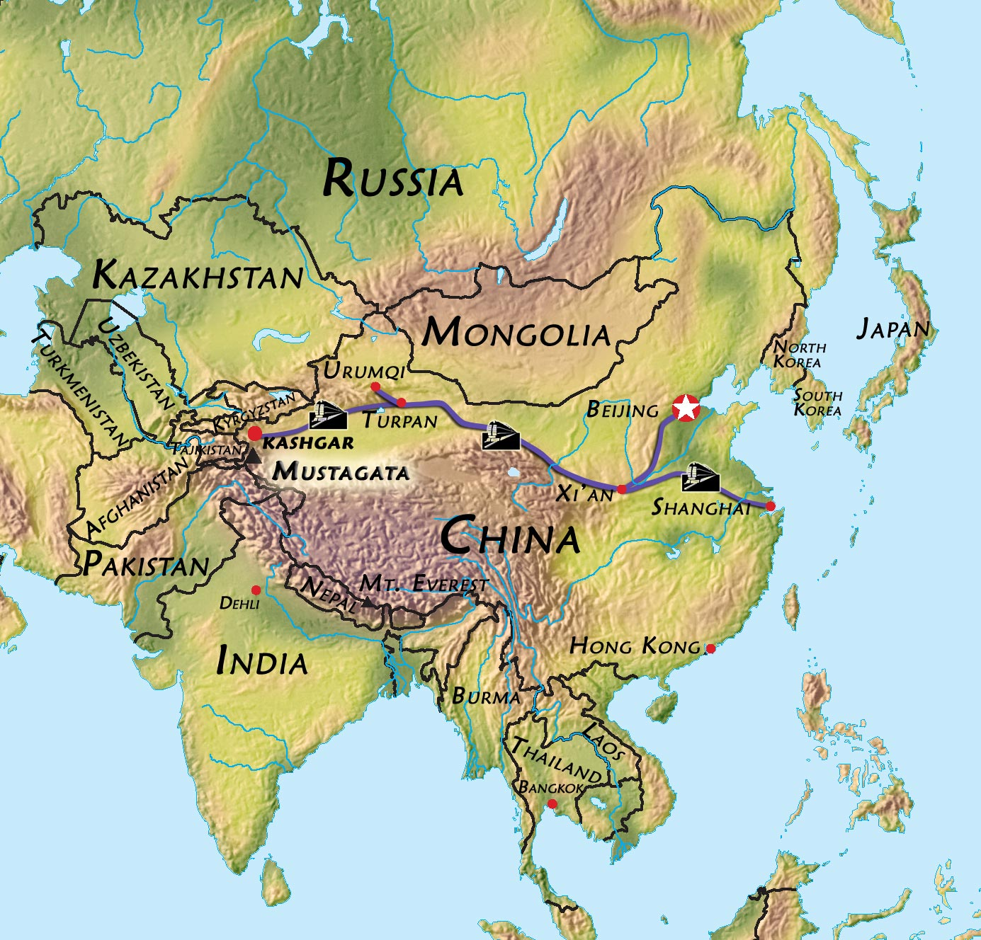 Silk route center of the world olyeats travel2 gumiabroncs Choice Image